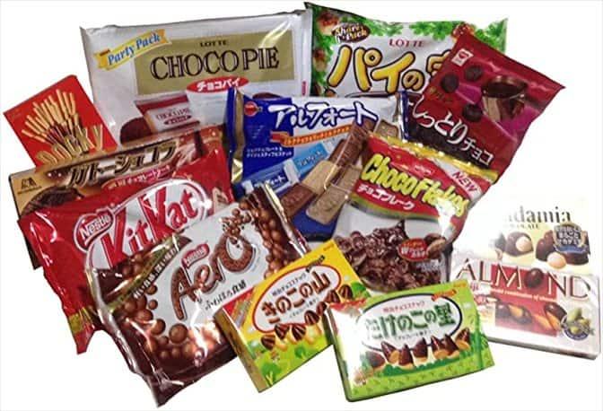 チョコレートお菓子
