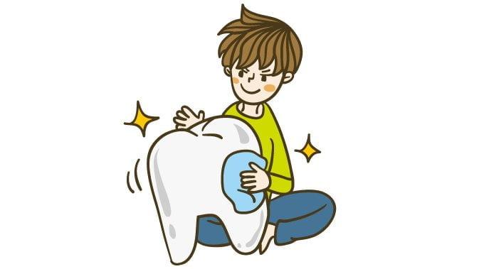 歯磨き虫歯
