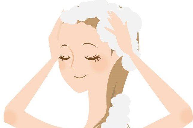 シャンプー洗髪